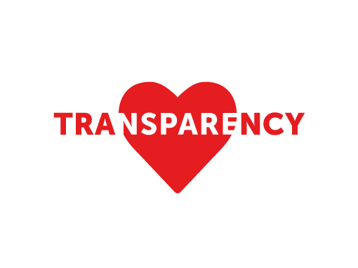 WE LOVE TRANSPARENCY
